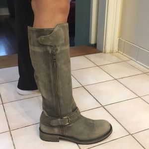 Matisse distressed leather boots size 8